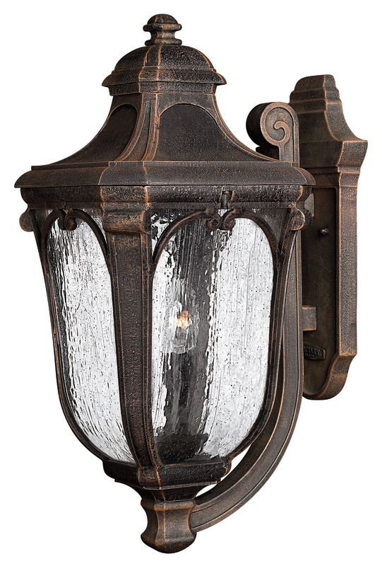"Hinkley Lighting H1315 22"" Height 3 Light Lantern Outdoor Wall Sconce"