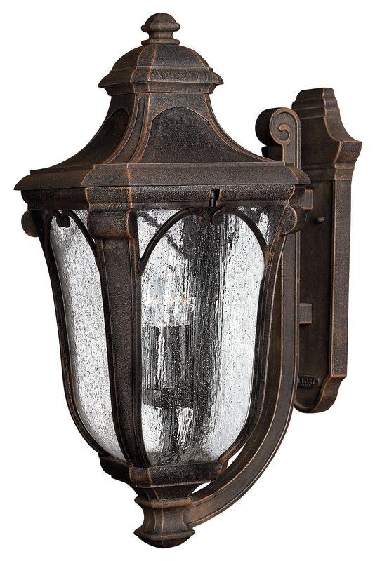 "Hinkley Lighting H1319 26.5"" Height 3 Light Lantern Outdoor Wall"