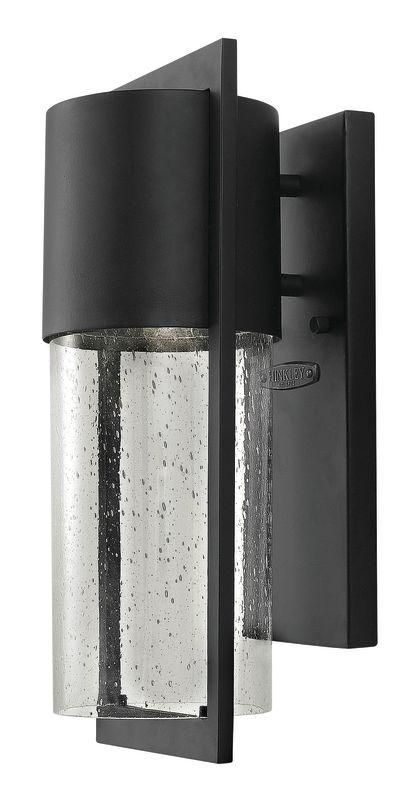 Hinkley Lighting 1320BK-LED Black Contemporary Shelter Wall Sconce Sale $259.00 ITEM: bci1883768 ID#:1320BK-LED UPC: 640665932010 :