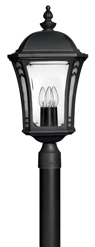 Hinkley Lighting H1331 3 Light Post Light from the Wabash Collection Sale $249.00 ITEM: bci310616 ID#:1331MB UPC: 640665133103 :