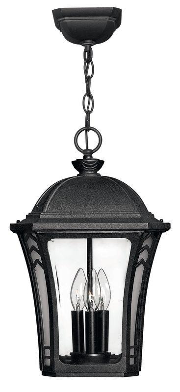 Hinkley Lighting H1332 3 Light Outdoor Lantern Pendant from the Wabash Sale $249.00 ITEM: bci310618 ID#:1332MB UPC: 640665133202 :