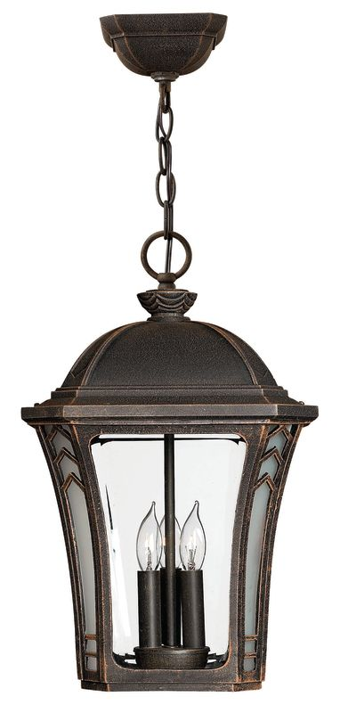 Hinkley Lighting H1332 3 Light Outdoor Lantern Pendant from the Wabash Sale $249.00 ITEM: bci310617 ID#:1332MO UPC: 640665133219 :