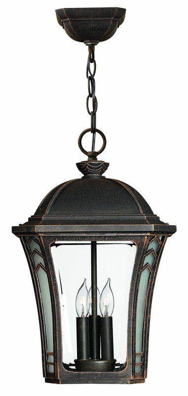 Hinkley Lighting 1332-LED 1 Light LED Outdoor Lantern Pendant from the