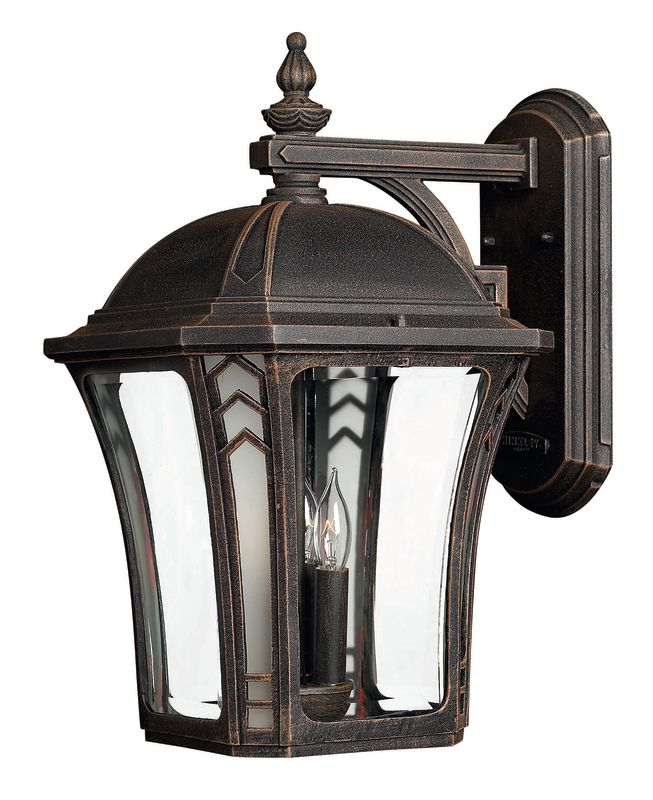 "Hinkley Lighting H1335 18.5"" Height 3 Light Lantern Outdoor Wall"