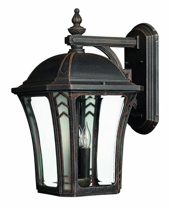 "Hinkley Lighting 1335-LED 18.5"" Height LED Outdoor Lantern Wall Sconce"