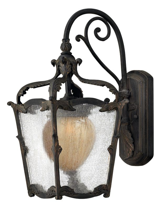 "Hinkley Lighting 1420 17"" Height 1 Light Lantern Outdoor Wall Sconce"