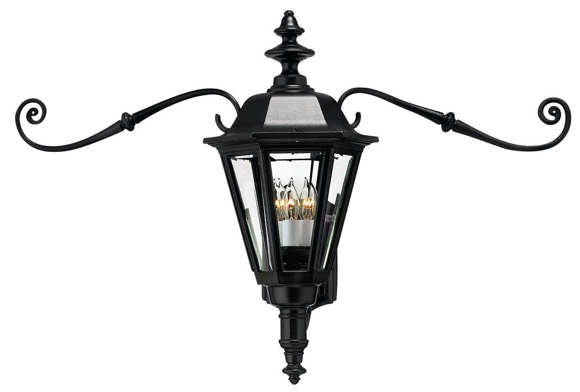 "Hinkley Lighting H1445 21"" Height 3 Light Lantern Outdoor Wall Sconce"