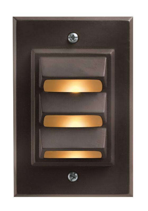 Hinkley Lighting H1542 12v 12w Die-Cast Aluminum Vertical Deck / Rail Sale $41.50 ITEM: bci561446 ID#:1542BZ UPC: 640665154245 :