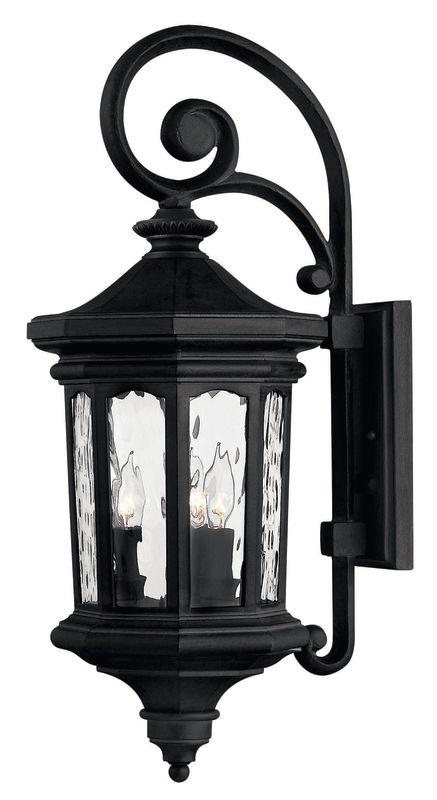 "Hinkley Lighting H1604 25.5"" Height 3 Light Lantern Outdoor Wall Sale $399.00 ITEM: bci310647 ID#:1604MB UPC: 640665160413 :"