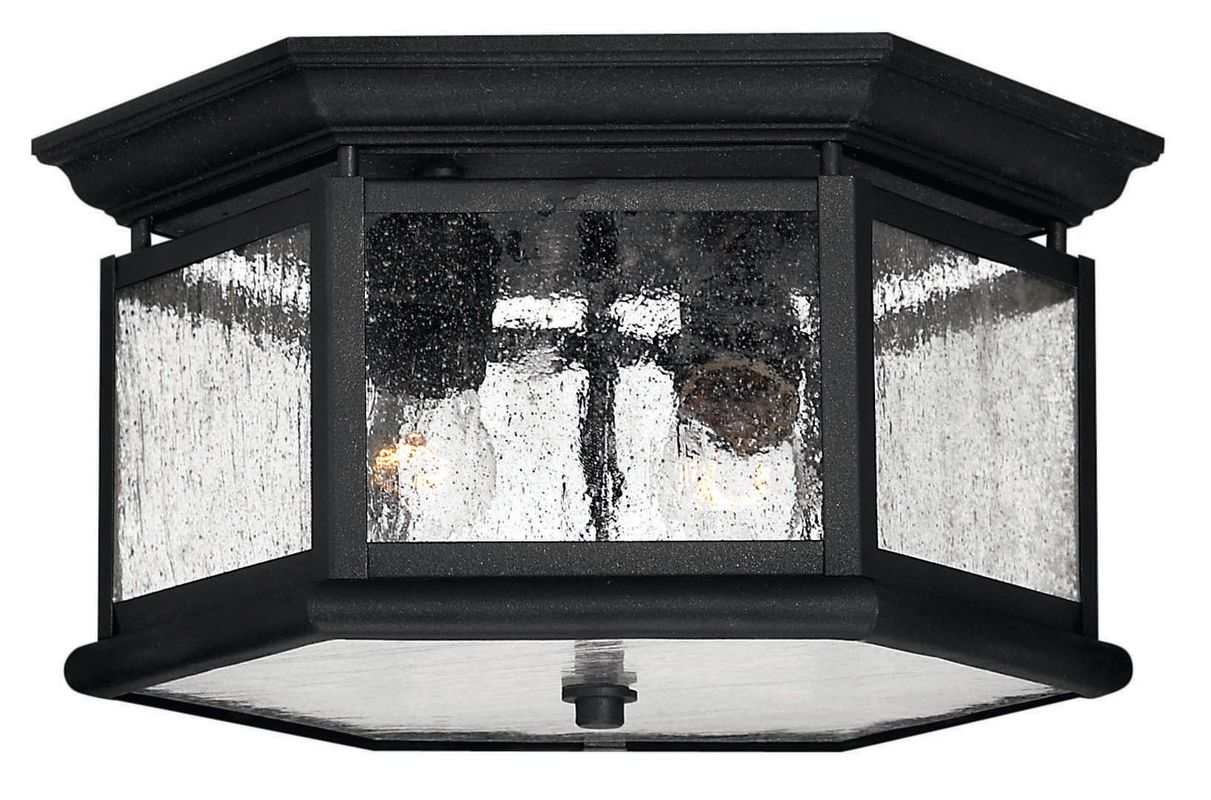 Hinkley Lighting H1683 2 Light Outdoor Flush Mount Ceiling Fixture