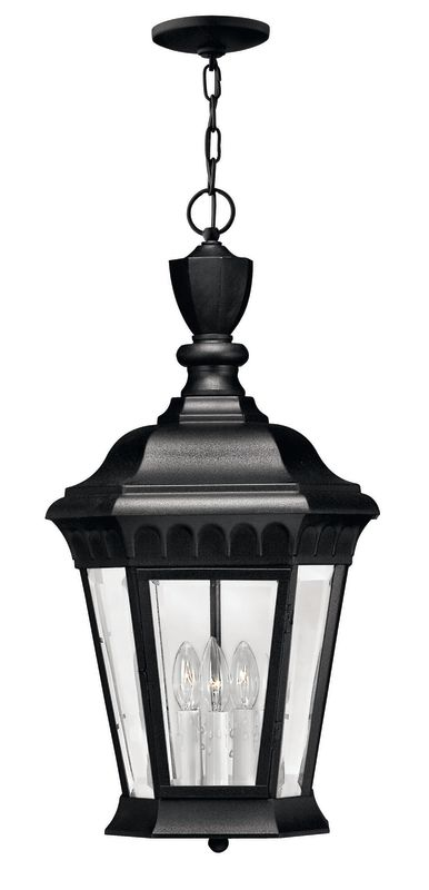 Hinkley Lighting H1702 3 Light Outdoor Lantern Pendant from the