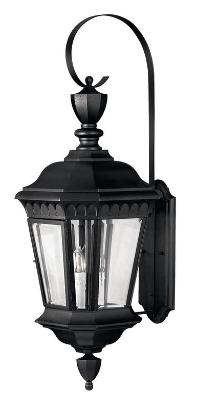 "Hinkley Lighting H1705 35"" Height 3 Light Lantern Outdoor Wall Sconce"