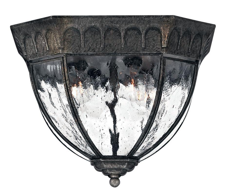 Hinkley Lighting H1713 4 Light Outdoor Flush Mount Ceiling Fixture