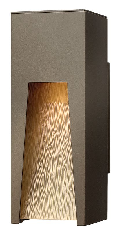 Hinkley Lighting 1760BZ Bronze Contemporary Kube Wall Sconce