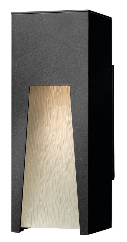 Hinkley Lighting 1760SK Satin Black Contemporary Kube Wall Sconce Sale $279.00 ITEM: bci1431882 ID#:1760SK UPC: 640665176018 :