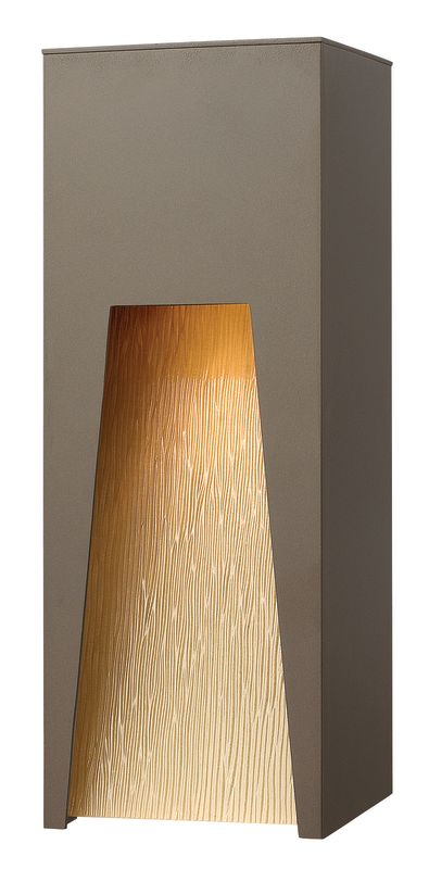 Hinkley Lighting 1764BZ Bronze Contemporary Kube Wall Sconce Sale $359.00 ITEM: bci1431884 ID#:1764BZ UPC: 640665176407 :