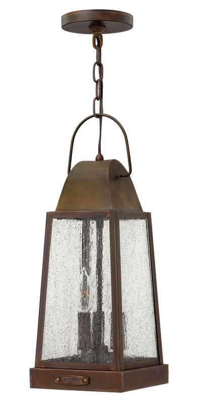 Hinkley Lighting 1772 3 Light Outdoor Lantern Pendant from the