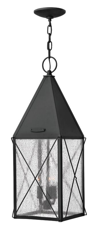 Hinkley Lighting 1842 3 Light Outdoor Lantern Pendant from the York Sale $299.00 ITEM: bci2017677 ID#:1842BK UPC: 640665184204 :