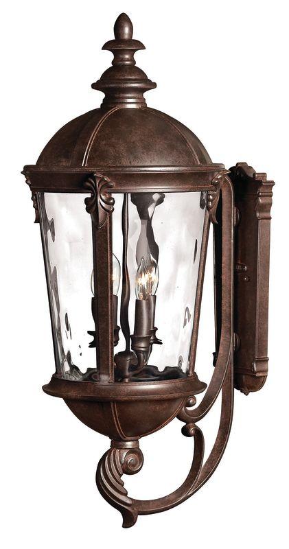 "Hinkley Lighting H1895 32"" Height 4 Light Lantern Outdoor Wall Sconce"