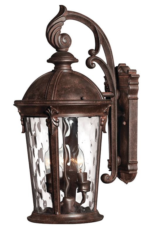 "Hinkley Lighting H1898 20.75"" Height 3 Light Lantern Outdoor Wall"