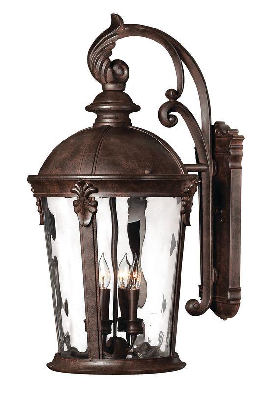 "Hinkley Lighting H1899 25.75"" Height 4 Light Lantern Outdoor Wall"