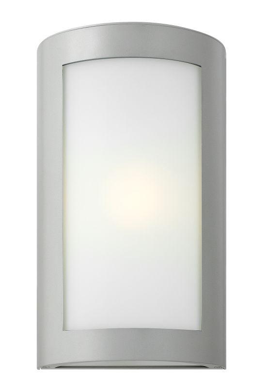 Hinkley Lighting 2024TT Titanium Contemporary Solara Wall Sconce Sale $399.00 ITEM: bci1883812 ID#:2024TT UPC: 640665202410 :