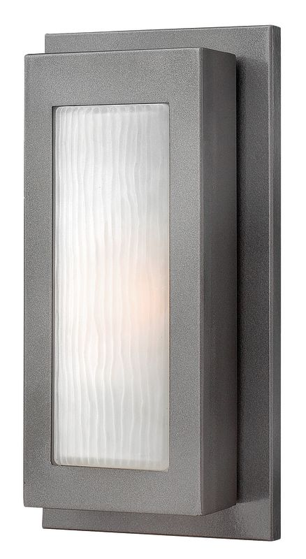 Hinkley Lighting 2050HE Hematite Contemporary Titan Wall Sconce Sale $185.00 ITEM: bci1431932 ID#:2050HE UPC: 640665205008 :