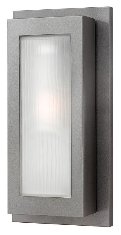 Hinkley Lighting 2054HE Hematite Contemporary Titan Wall Sconce Sale $249.00 ITEM: bci1431938 ID#:2054HE UPC: 640665205404 :