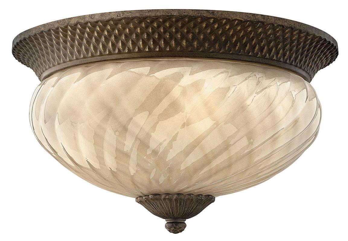 Hinkley Lighting H2123 3 Light Outdoor Flush Mount Ceiling Fixture