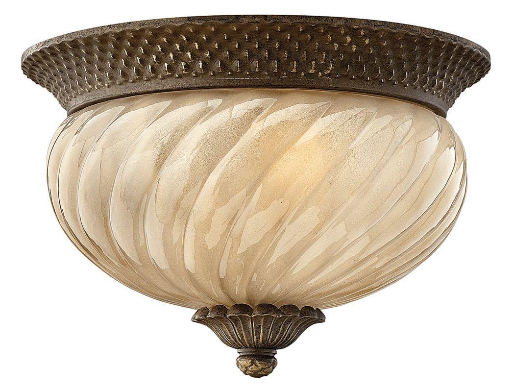 Hinkley Lighting H2128 2 Light Outdoor Flush Mount Ceiling Fixture