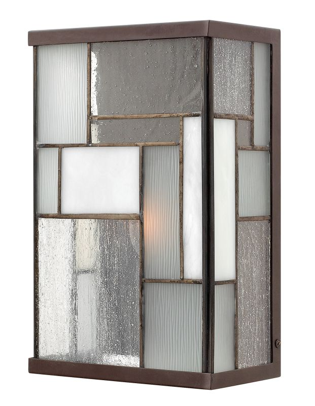 "Hinkley Lighting 2150 11"" Height 1 Light ADA Compliant Outdoor Wall"