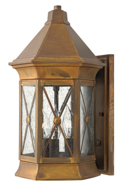 "Hinkley Lighting 2294-LED 15.5"" Height LED Outdoor Lantern Wall Sconce Sale $549.00 ITEM: bci1883885 ID#:2294SN-LED UPC: 640665229448 :"