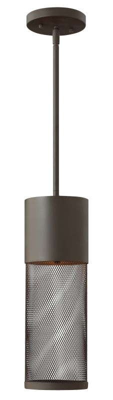 Hinkley Lighting 2302-LED 1 Light Dark Sky LED Outdoor Small Pendant