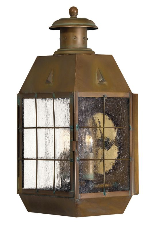 "Hinkley Lighting H2374 17"" Height 2 Light Lantern Outdoor Wall Sconce"