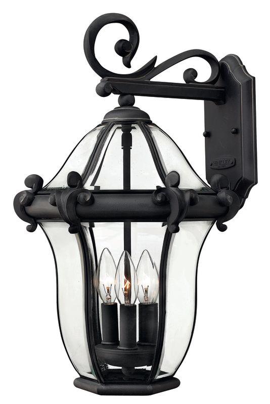 "Hinkley Lighting H2444 21"" Height 3 Light Lantern Outdoor Wall Sconce"