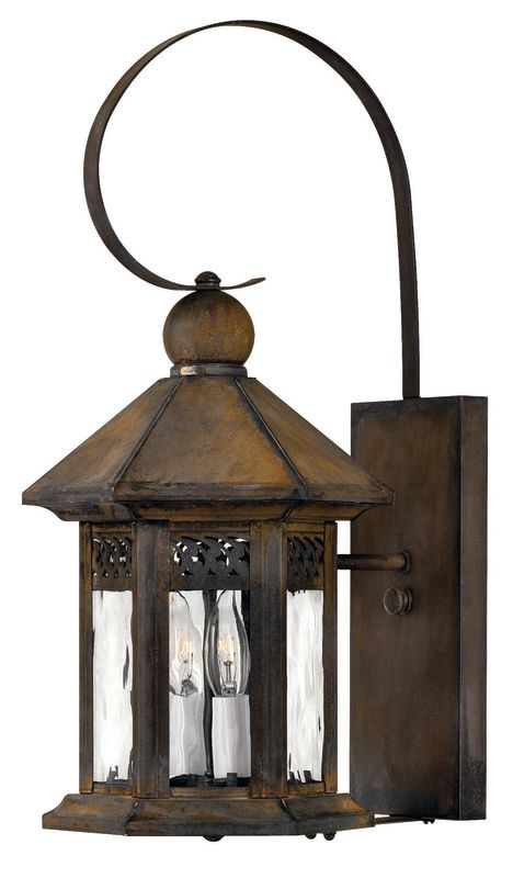 "Hinkley Lighting H2990 19"" Height 2 Light Lantern Outdoor Wall Sconce"