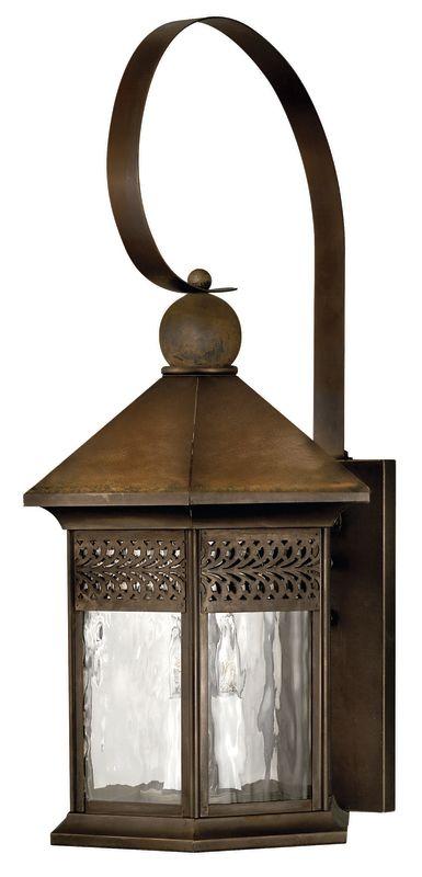 "Hinkley Lighting H2996 27.5"" Height 3 Light Lantern Outdoor Wall"
