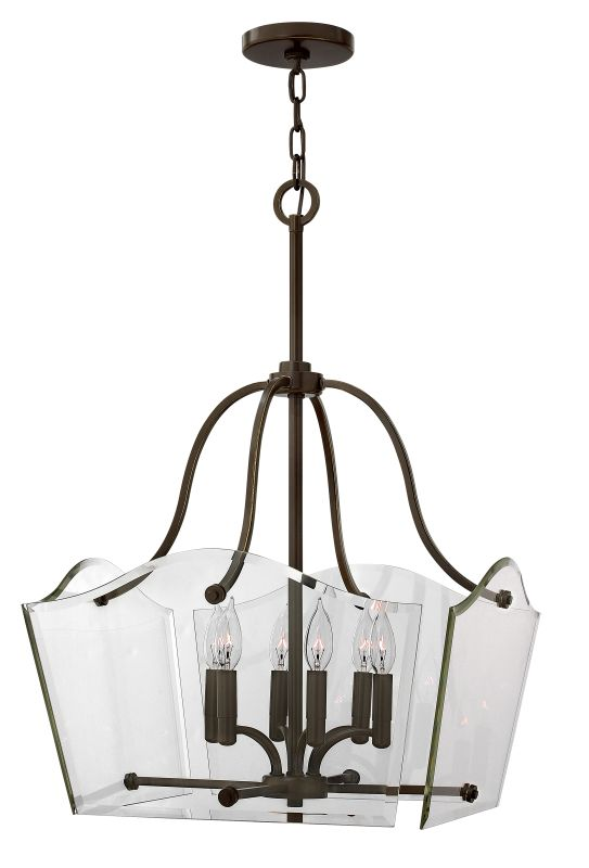 "Hinkley Lighting 3004 6 Light 29"" Height Indoor Full Sized Pendant"