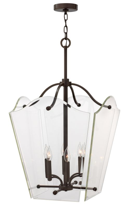 "Hinkley Lighting 3008 6 Light 33.5"" Height Indoor Full Sized Pendant Sale $479.00 ITEM: bci1883661 ID#:3008OZ UPC: 640665300819 :"