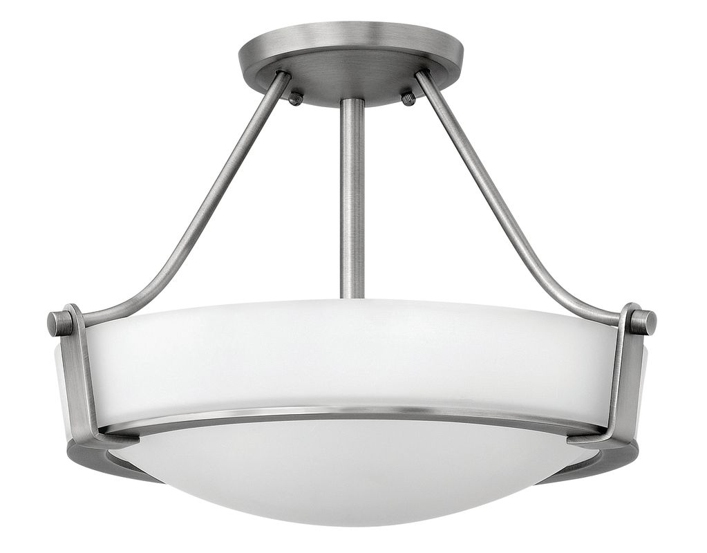 Hinkley Lighting 3220 3 Light Semi-Flush Ceiling Fixture from the Sale $239.00 ITEM: bci1411239 ID#:3220AN UPC: 640665322002 :