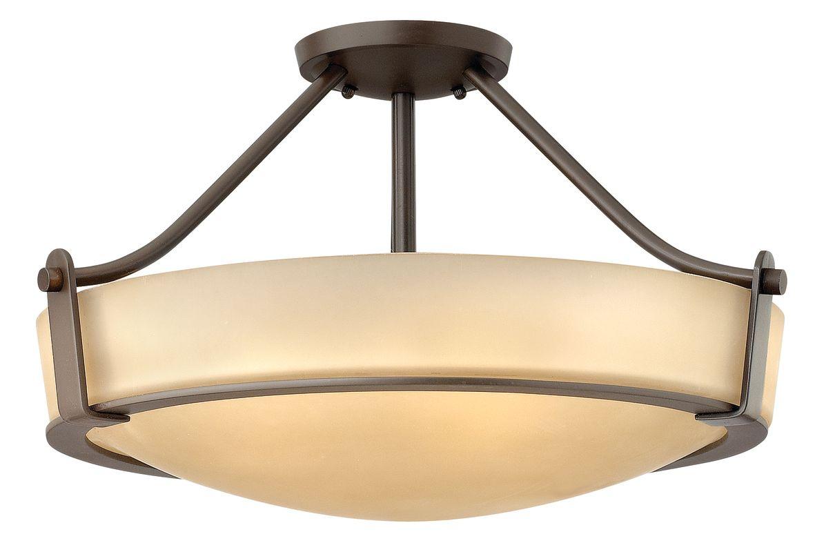 Hinkley Lighting 3221 4 Light Semi-Flush Ceiling Fixture from the