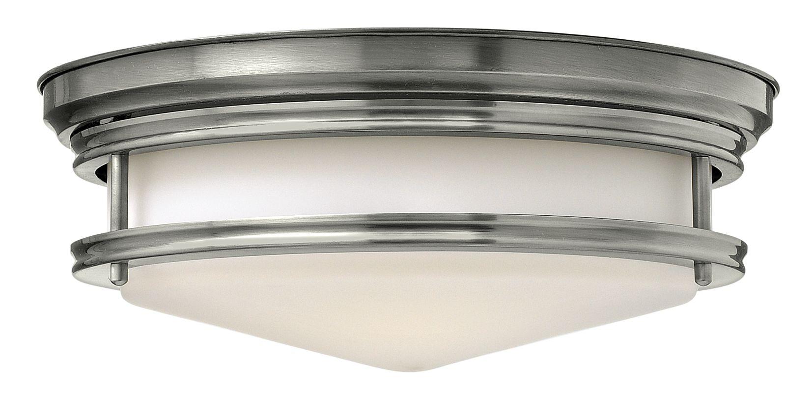 Shop Portfolio 3 Light Vassar Brushed Nickel Bathroom: Hinkley Lighting 3301AN Antique Nickel 3 Light Indoor