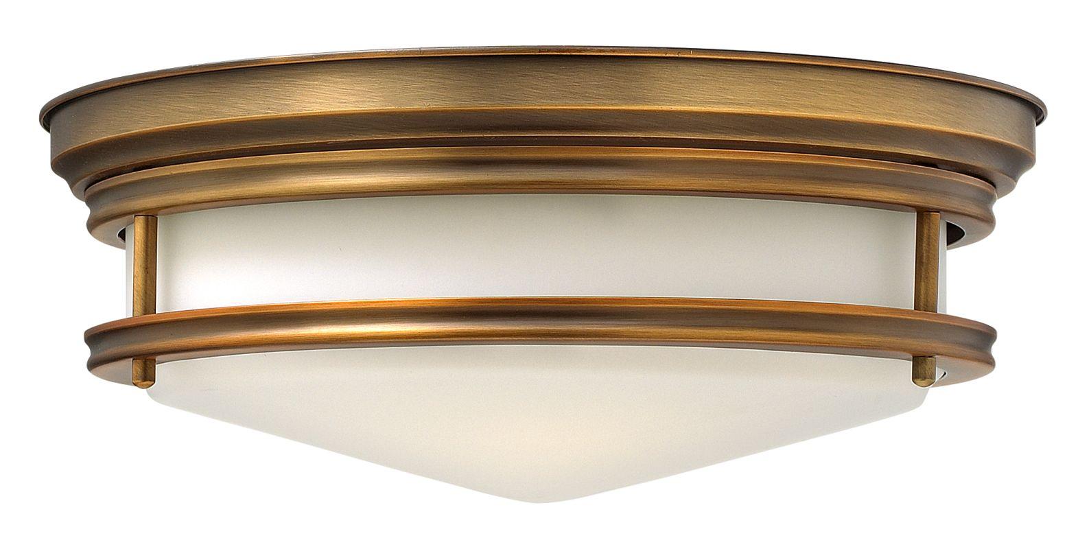Shop Portfolio 3 Light Vassar Brushed Nickel Bathroom: Hinkley Lighting 3301BR Brushed Bronze 3 Light Indoor