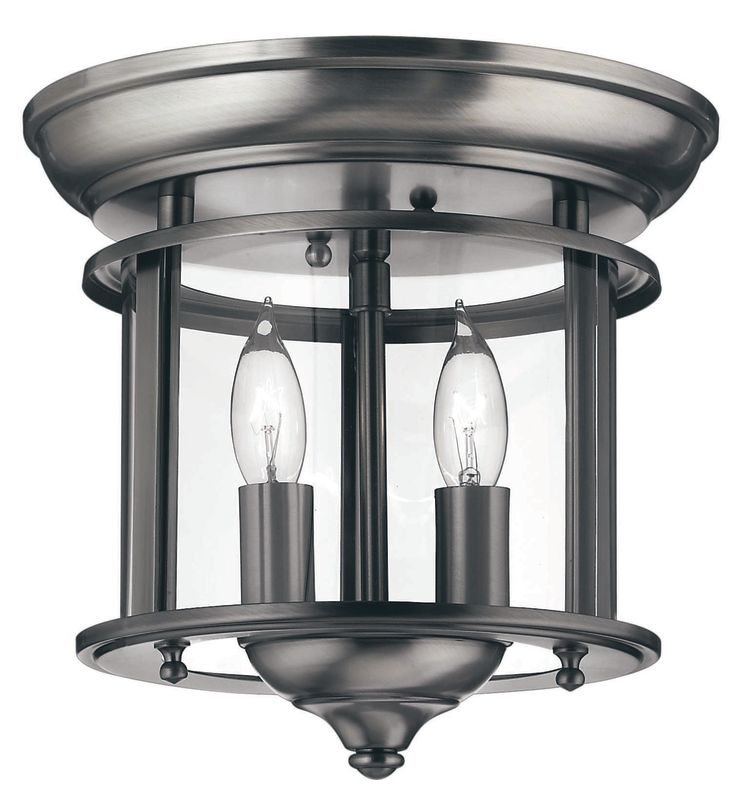 Hinkley Lighting H3472 2 Light Indoor Semi-Flush Ceiling Fixture from