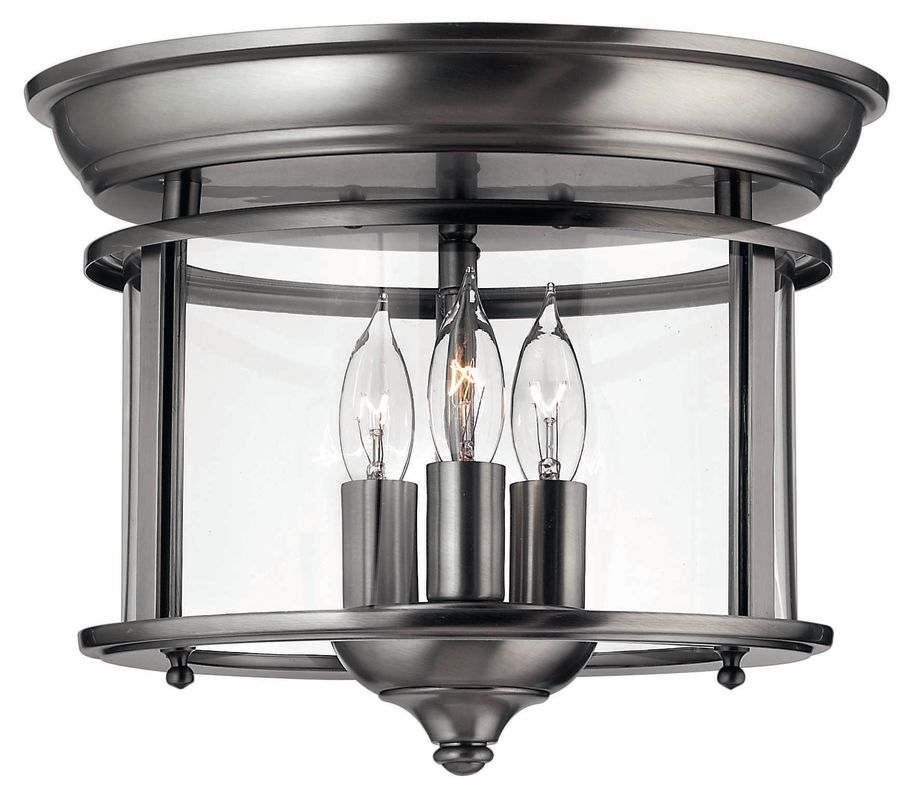 Hinkley Lighting H3473 3 Light Indoor Semi-Flush Ceiling Fixture from