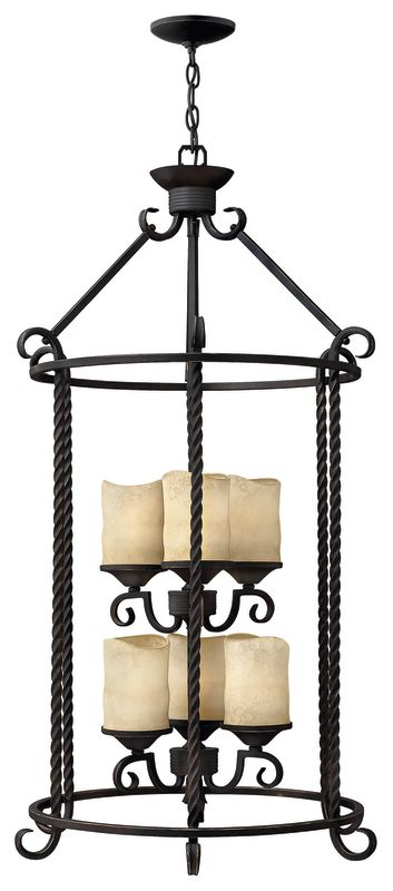 Hinkley Lighting H3506 6 Light Indoor Lantern Pendant from the Casa Sale $1079.00 ITEM: bci537601 ID#:3506OL UPC: 640665350609 :