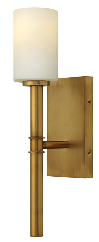 Hinkley 3580VS Vintage Brass Contemporary Margeaux Wall Sconce
