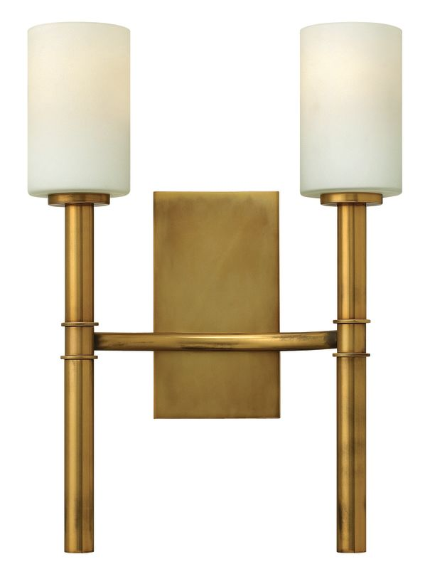 Hinkley 3582VS Vintage Brass Contemporary Margeaux Wall Sconce