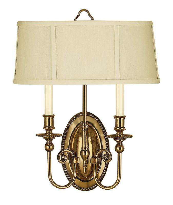 Hinkley Lighting 3610BB Burnished Brass 2 Light ADA