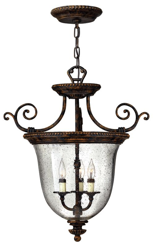 Hinkley Lighting H3713 3 Light Indoor Semi-Flush Ceiling Fixture from Sale $459.00 ITEM: bci153578 ID#:3713FB UPC: 640665371314 :